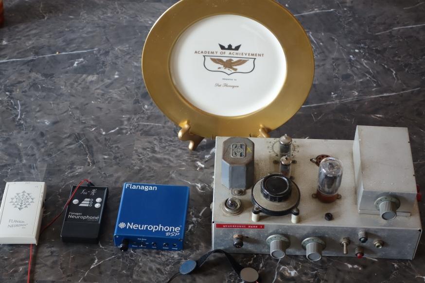 Patrick Flanagan's 1962 Gold Plate Award